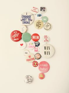 Great collection of Button badges!