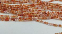 Mixed Color Carnelian 2mm