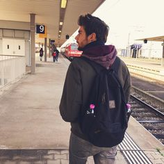Alvaro Soler this last winter in his tour with his Mediterrans Backpack. Available here: www.mediterrans.com
