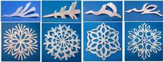 Beautiful No-Sew Snowflake Garland   One Good Thing by Jillee
