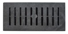 Montauk Black Slate Tile Vent Finally a Floor Vent Register cover that matches your tile floor perfectly. Each Made2Match Vent Register is made from the specific floor tile model you've selected and designed to lay flush with your floor. Don't compromise the beauty your tile floor with unsightly metal and plastic registers. Finish your tile floor the right way with Made2Match Flush Mount Vent Registers. Floor Vent, Tile Floor, Bathroom Renos, Bathrooms, Vent Registers, Register Covers, Air Vent Covers, Shop Buildings, Inviting Home
