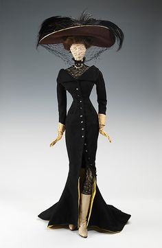 "The Metropolitan Museum of Art - ""1906 Doll"" by Elsa Schiaparelli; made for the 1949 Gratitude Train."