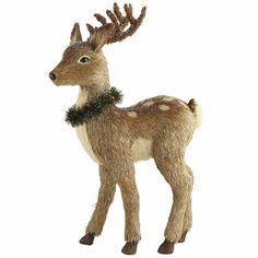 "Natural Standing Reindeer - 30"""