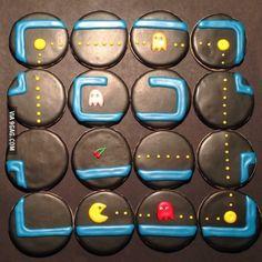 Pac-Man Cookies!