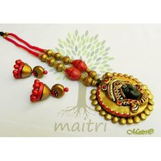 Terracotta Jewelry - Terracotta Set Tsbd101x