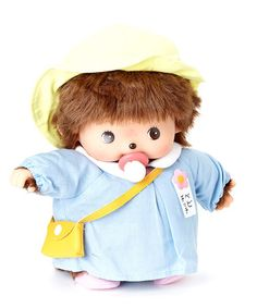 Take a look at this Kindergarten Boy Bebichhichi Plush Toy by Monchhichi on #zulily today!