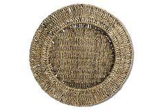 S/4 Sea-Grass Charger Plates on OneKingsLane.com