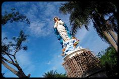 The Tallest Statue of Virgin Mary is located in Indonesia - pt