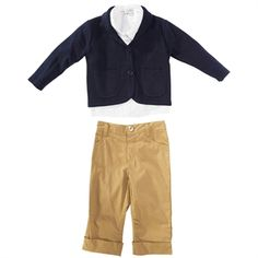 cfaa1a850 Wendy Bellissimo Infant Boy Lloyd 3-Piece Sweater