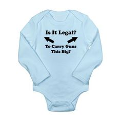 lol, I need this in toddler size since Nathan likes to show off his guns lol