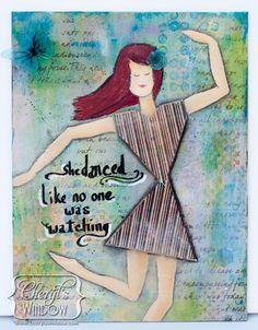 She Danced … with Ann Butler Designs–Blog Hop