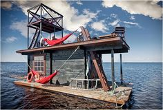 TeknOlsun:Yüzen Ev SaunaLautta
