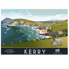 Image of Poster of Kerry, Ireland