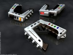Space:1999 Stun Guns by JamesVillanueva.deviantart.com on @DeviantArt