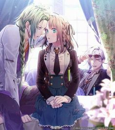Amnesia - Ukyo, Heroine and Ikki