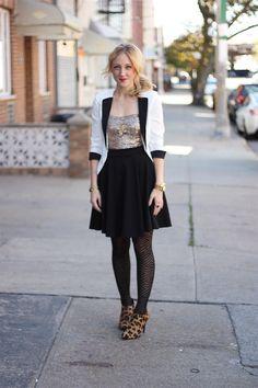 YA sequin dress.