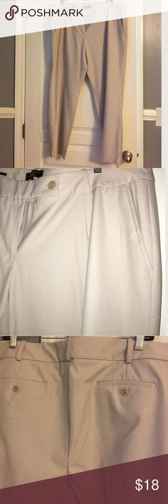 Plus size Talbots slacks Plus size, petite length slacks. Button closure back pockets. Wide Belt loops. Hidden front button closure. Lined pockets. Size 22WP. Talbots Pants Trousers