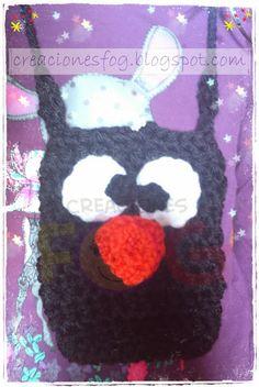 creaciones FOG: Bolsito pingüino