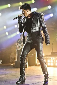 His shoes *-* Adam has style