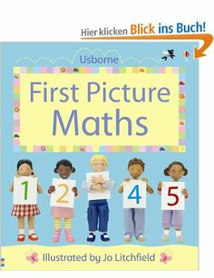 First Picture Maths (Usborne First Picture Books): Amazon.de: Felicity Brooks: Englische Bücher