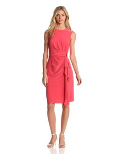 Jones New York Women`s Sleeveless Solid Dress $104.99