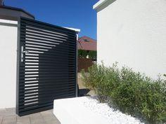 Classic simplicity - always wins! Aluminum gate Linea.