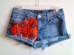 Customize Studded Tribal Printed High Waisted Shorts #print #shorts www.loveitsomuch.com