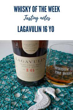 Review and tasting notes for the Lagavulin 16 yo Single Malt whisky Single Malt Whisky, Bourbon, Whiskey, Scotland, Tourism, Notes, Bottle, Bourbon Whiskey, Whisky