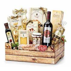 9b5b117c139968 Cesto della Festa per Famiglia - Cesti Natalizi - Idea Regalo Cesto Natale