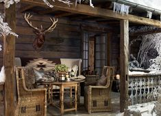 Nice Rustic Country Decor Ralph Lauren Home Alpine Lodge Country Decor, Rustic Decor, Country Living, Country Patio, Ideas De Cabina, Alpine Lodge, Boho Home, Country Style Homes, Cottage Style