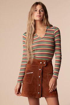 Brady Bunch Rainbow Shirt