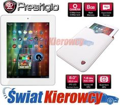 TABLET PRESTIGIO MULTIPAD 2 ULTRA DUO 8 BIAŁY ETUI