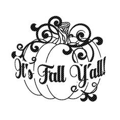 Its Fall yall, svg Autumn Halloween pumpkin decal clipart vector graphics cut files jpg ping cricut silhouette cameo Cut file in SVG and clipart file in JPG and PNG. YOU WILL RECEIVE 1 ZIP file Silhouette Cameo Projects, Silhouette Cameo Freebies, Free Silhouette Designs, Silhouette Cameo Files, Silhouette Images, Cricut Explore Air, Vinyl Crafts, Cricut Vinyl Projects, Cricut Creations