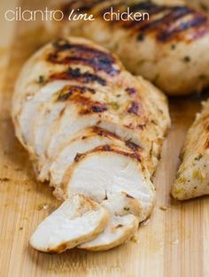 cilantro lime chicken. It's time for summer!! | thewickednoodle.com