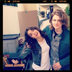 The Fosters ABC Family | Maia Mitchell and Alex Saxon | Behind the Scenes