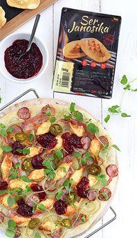 Pizza *bacowska* Camembert Cheese, Dairy, Pizza, Food, Essen, Meals, Yemek, Eten