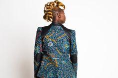 Savanna African Print Blazer | Zuvaa