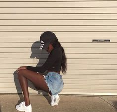 fashion goals image on We Heart It Lit Outfits, Cool Outfits, Spring Outfits Women, Summer Outfits, Black Girl Magic, Black Girls, Fashion Killa, Black Is Beautiful, Dark Skin