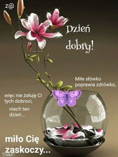 Thinking Of You Quotes, Be Yourself Quotes, Good Morning, Glass Vase, Humor, Pictures, Motto, Album, Polish