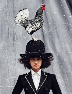 www.pegasebuzz.com | Shanina Shaik by Kristian Schuller for Vogue India, december 2014.