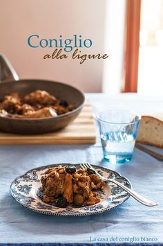 Coniglio alla ligure - Ligurian Braised Rabbit