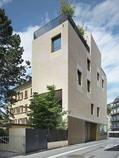 Bob Gysin + Partner - House with a studio, Zurich 2010. Photos © Roger Frei. [[MORE]]