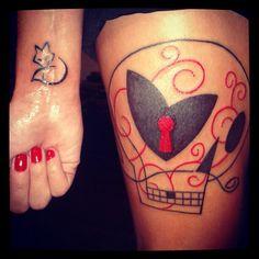 Tattoo@Fox and Yann Black Skull   Flickr - Photo Sharing!