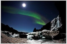 Iceland is the coolest. It's got auroras, glaciers AND volcanoes. I'll live there someday.