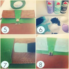 DIY: Revamp Old Bags With Paint - TRÈS DOPE