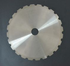 Swift disk teeth knife.  //  Size(mm): 175-22-2  //  Material: SUS440C  //  Application: food producing & cutting.