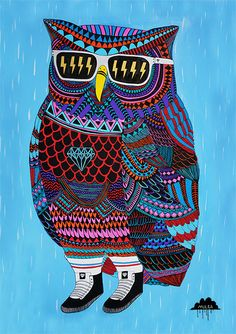 Artists: Joel Moore Project: Mulga's Zombie Zoo Website: mulgatheartist.com.au  An Ode to Otis the Owl