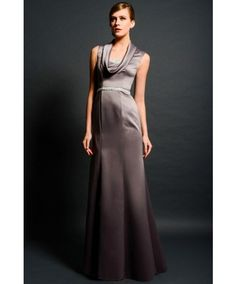 Classic Tank Top Floor Length Satin A Line Mother Of The Bride Dress Mermaid  Prom Dresses bbe52fa2f2c9