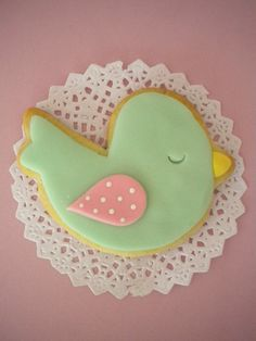 Pajarito Cookie Mesa Candy Bar, Happy Brithday, Fancy Cookies, Ideas Para Fiestas, Bird Cage, Cookie Decorating, Diy And Crafts, Alice, Baby Shower
