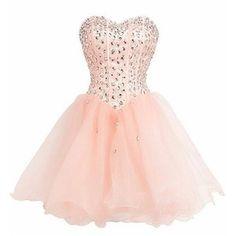 SimpleDressUK Short Elegant Strapless Homecoming Dress Party Dresses